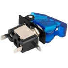 E Support Car Red LED Toggle Switch Pack - Blue (5st)