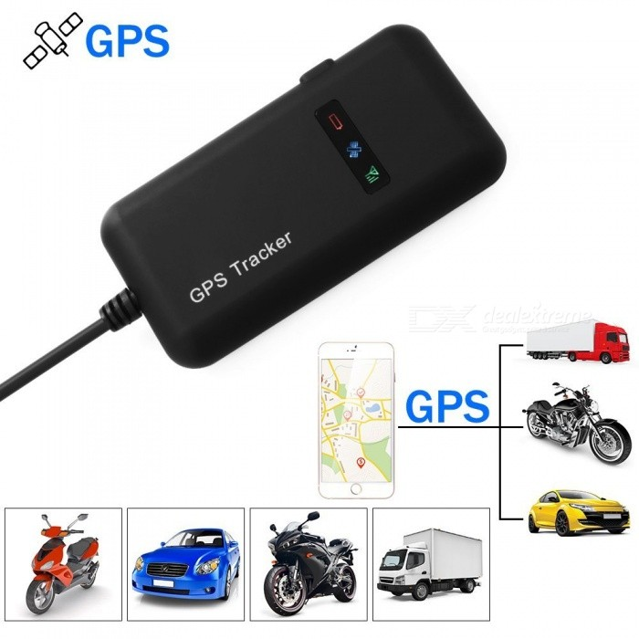LANGMAO Vehicle motorcykel Tracker realtid Locator GPS
