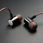 KZ ED3 Hi-Fi Stereo Metal In-Ear Wired Earbuds Earphone - Silver