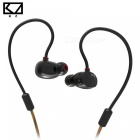 KZ ZS1 HiFi Stereo Metal In-Ear Wired Earphone - Black (With Mic) [фото2]