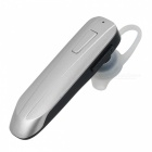 JEDX G4 Mini Stereo Wireless Bluetooth Headset w/ Mic - Silver