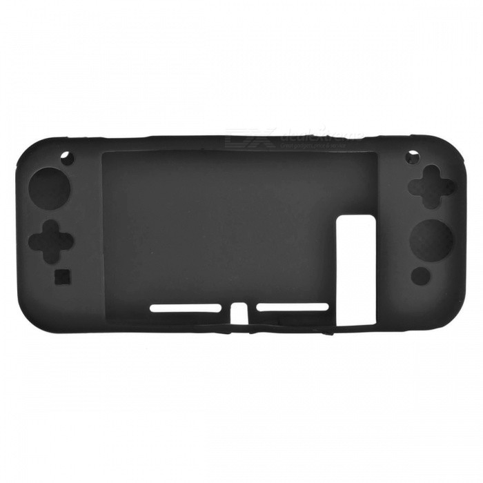 Protective Silicone Cover Case for Nintendo Switch - Black