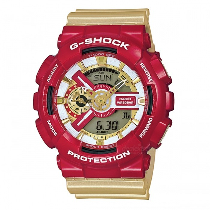 Casio G-shock Standardní Analog-Digital GA-110CS-4A
