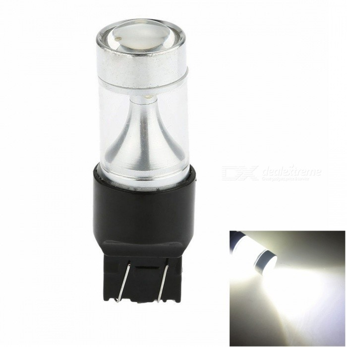 SENCART 7443 T20 40W 8 x 3535 SMD White LED Car Steering BlubTail Lights<br>Color BIN7443 WhiteModel7443Quantity1 setMaterialAluminum+PCB +LEDForm  ColorWhite + BlackEmitter TypeOthers,3535 SMD LEDChip BrandCreeChip Type3535 SMD LEDTotal Emitters8PowerOthers,40WColor Temperature6000-6500 KTheoretical Lumens3200 lumensActual Lumens1500 lumensRate Voltage9-30VWaterproof FunctionNoConnector TypeOthers,7443 T20ApplicationBrake light,Backup light,Steering light,Clearance lamp,Signal light,Indicator lamp,Tail lightConnectorOthers,N/AApplicationOthers,N/APacking List1 x Cree Led light<br>