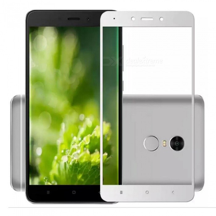 ASLING Tempered Glass Full Cover Film for Redmi Note 4X - White
