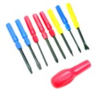 Cute 9-Piece Screw Drivers Set
