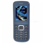 "C1 GSM Cellphone w/1.8"" TFT LCD, Dual SIM, Dual Band - Navy Blue"