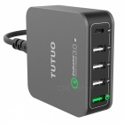 TUTUO 40W 5-Port QC3.0 + Type-C Desktop Smart USB Charger (US Plugs)