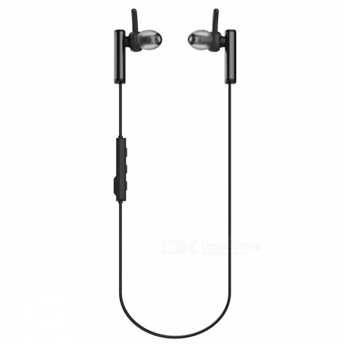 Syllable D300L Bluetooth In-ear Earbuds w/ Mic Switch -  Black + Gray