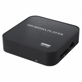 Mini 1080P Full HD Media Player w/  HDMI / USB / SD / AV / VGA