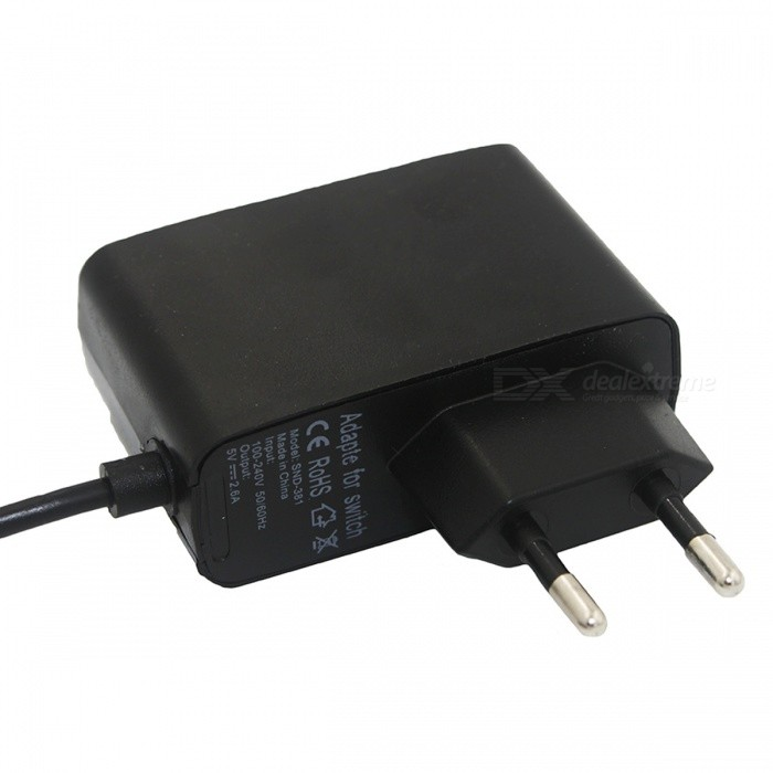 EU Plug AC Adapter Travel Charger Adapter For Nintendo