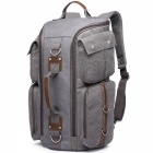 KAUKKO F363 Stylish Large-Capacity Practical Dual-use Backpack - Grey