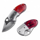 Multifunctional Outdoor Camping Personality Puffer Folding Knife - Red