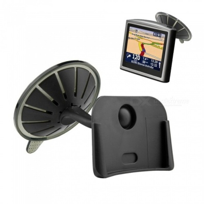 ZIQIAO Car Windshield Mount Holder for TomTom One XL XL.S XL.T - Black