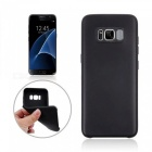 TPU Protective Back Case Cover for Samsung Galaxy S8 - Black