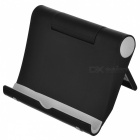 KICCY Universal Adjustable Lazy Mobile Phone Stand Holder - Black