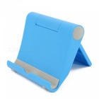 KICCY Universal Adjustable Lazy Mobile Phone Stand Holder - Blue
