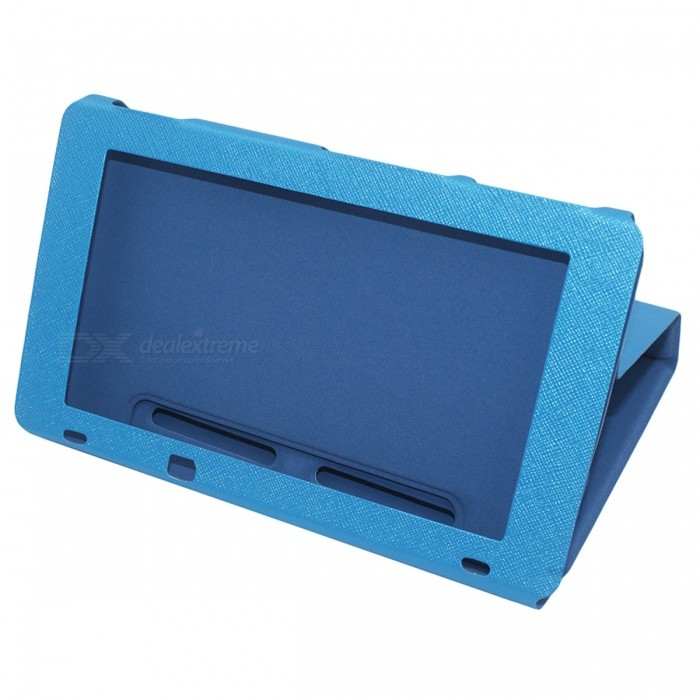 PU Leather Protective Case for Nintendo Switch - Blue