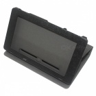 PU Leather Protective Case for Nintendo Switch - Black