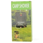 Solar Outdoor Camping Shower Bag (20 Liters/5 Gallons)