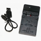 NP-FW50 USB Battery Charger - Black