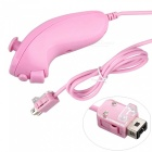 Nunchuk + Remote Controller for Game Nintendo Wii - Pink