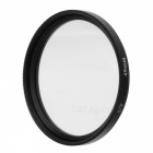 Aluminum Alloy 49mm Ultraviolet Ray UV Lens Filter - Black