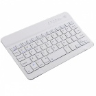 Android/ iOS/ Windows Bluetooth Keyboard for Smartphone Tablet - White