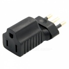 CY PW-181 Italy Male Plug to USA AC Nema 5-15R Female Power Adapter