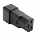 CY PW-183 IEC320 C20 to C21 C19 Male to Female Extension Power Adapter