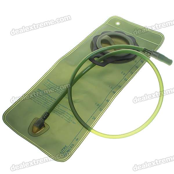 Durable Water Bladder Bag with Straws (2.5-Litre)