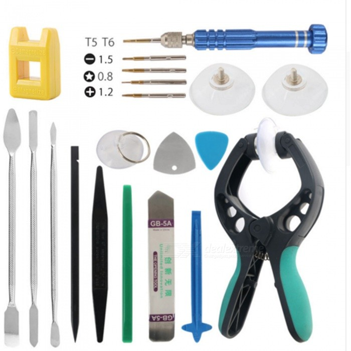 20-in-1 Manual Maintenance Repair Tool Kit for Mobile Phone / PC