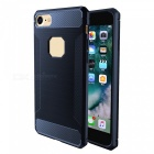 Wire Drawing Carbon Fiber + TPU Style Protective Case for IPHONE 7