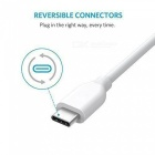 Anker PowerLine USB-C to USB 3.0 Cable 3ft - White (2 PCS) [фото4]