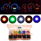 QooK T5 SMD 5050 LED Socket Instrument Panel Dashboard Light Bulbs 12V