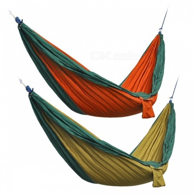 Outdoor Parachute Fabric Hammocks for Two Persons (2 Sets)