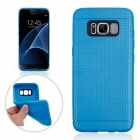 Honeycomb Pattern Protective TPU Back Case for Samsung Galaxy S8 -Blue