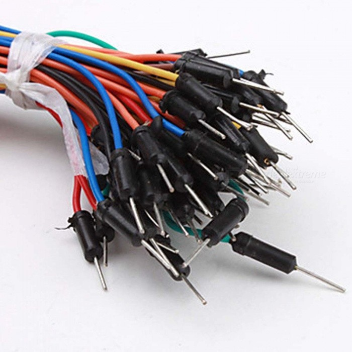 Electronic Jumper Cables : Breadboard jumper cable wires kit for electronic diy