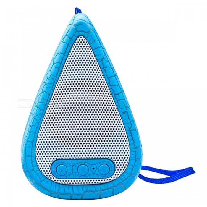ANTFEES AS1 Bluetooth Wireless Portable Stereo Speaker - Light Blue