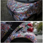 ZIQIAO Car Styling Funny Car Stickers (100 Pcs/ Pack) - Multi color