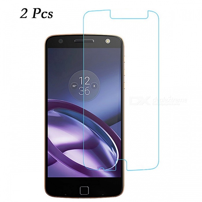 Dazzle Colour Tempered Glass Screen Protector for Moto Z Play (XT1635)