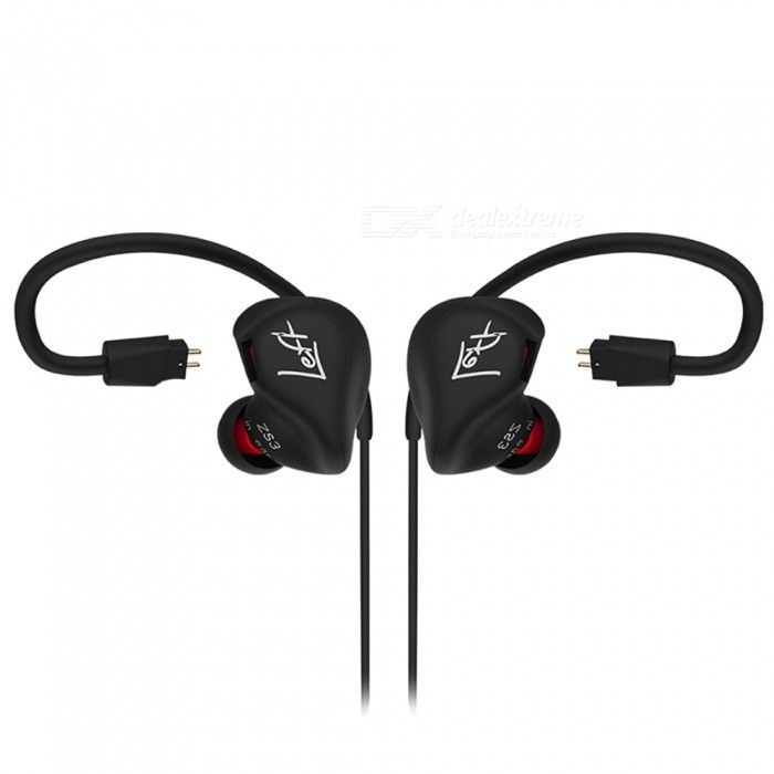 KZ ZS3 HiFi Stereo Metal In-Ear Wired Earphone - Black (Without Mic)Headphones<br>Form  ColorBlack (Without Mic)BrandKZModelZS3MaterialMetal + TPEQuantity1 DX.PCM.Model.AttributeModel.UnitConnection3.5mm WiredBluetooth VersionNoCable Length120 DX.PCM.Model.AttributeModel.UnitHeadphone StyleIn-EarWaterproof LevelOthers,N/AApplicable ProductsUniversalHeadphone FeaturesNoise-Canceling,Lightweight,PortableSupport Memory CardNoSupport Apt-XNoSensitivity98 dBTHD1%Frequency Response10~20000 HzImpedance16 DX.PCM.Model.AttributeModel.UnitDriver Unit7 mmPacking List1 x Earphone4 x Earphone caps<br>