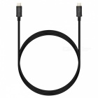 BSTUO USB3.1 Type-C Male to Male Cable - Black (1m)