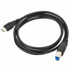 BSTUO USB 3.1 Type C to USB3.0 B Male Cable - Black (1m)