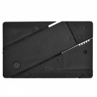 Outdoor Multi-Function Latest Folding Card Knife - Black