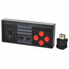 Plastic + ABS Wireless Turbo Controller Handles w/ Adapter for NES Classic Edition