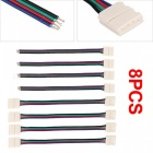 Connector Cable Adapter for Waterproof RGB LED SMD Strip (8 PCS)