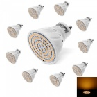 YouOKLight GU10 5W 80-SMD 2835 Warm White LED Light Bulb AC220V, 10PCS