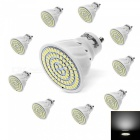 YouOKLight GU10 5W 80-SMD 2835 Cold White LED Light Bulb AC220V, 10PCS