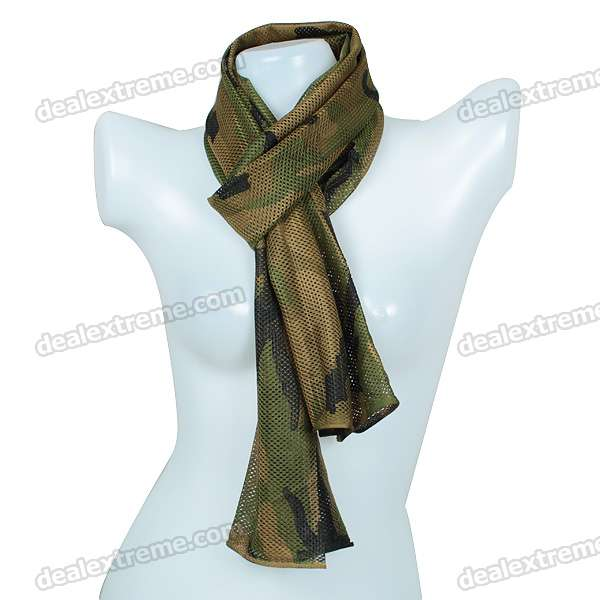 Stylish Camouflage Color Polyester Scarf (164*50.5cm)